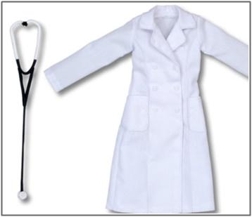 女医,白衣